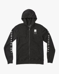 0 VA Guard Fleece Hoodie Black V605QRGH RVCA