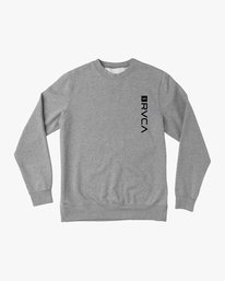 0 Reverted Crew Sweatshirt Grey V622TRRR RVCA