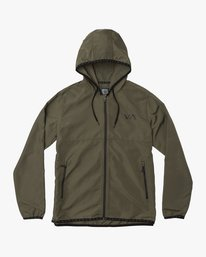 0 Axe Packable Jacket Green V701QRAX RVCA