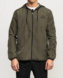 1 Axe Packable Jacket Green V701QRAX RVCA