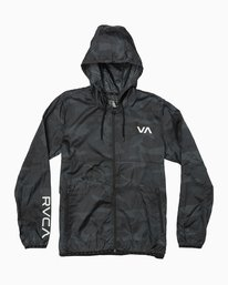 0 Hexstop IV Jacket Brown V701TRHP RVCA