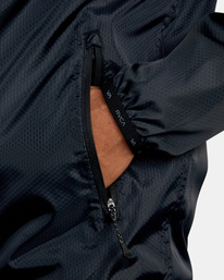 6 Hexstop IV Jacket Black V701TRHP RVCA