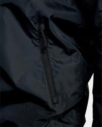 8 Hexstop IV Jacket Black V701TRHP RVCA