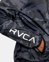 5 Hexstop IV Jacket Brown V701TRHP RVCA