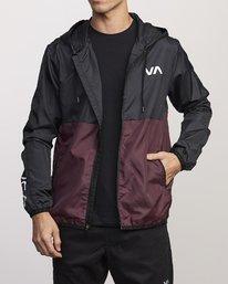 0 Hexstop IV Jacket Purple V701TRHP RVCA