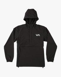 0 VA Anorak Jacket Black V702QRAN RVCA