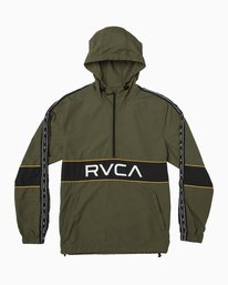 0 Adapter Anarok Jacket Green V704TRAA RVCA