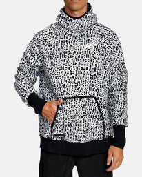 1 BEDWIN PULLOVER HOODIE Black V7053RBH RVCA