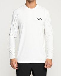 0 SPORT VENT LONG SLEEVE TOP White V9011RSV RVCA