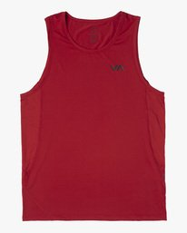 0 SPORT VENT TANK TOP Red V9031RST RVCA