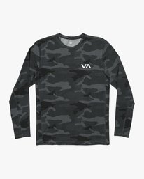 0 VA Vent Long Sleeve Top Brown V903QRVL RVCA