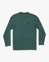 0 VA Vent Long Sleeve Top Green V903QRVL RVCA