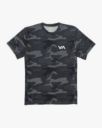 0 VA Vent Short Sleeve Top Camo V904QRVS RVCA
