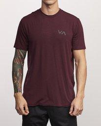 0 VA Vent Short Sleeve Top Purple V904QRVS RVCA