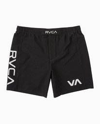 0 VA Sport Grappler Short Black VG208GRP RVCA