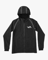 0 Grappler Jacket Black VG703GRA RVCA