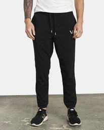 0 ​The Swift Sweat Pant Black VJ301SWT RVCA