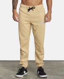 0 SWIFT SWEATPANT Brown VJ301SWT RVCA