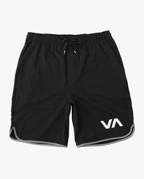 """0 VA Sport Short II 20"""" Short Black VL201SPO RVCA"""
