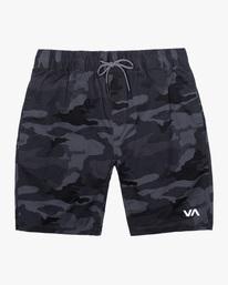 "0 Spectrum Workout Shorts 18"" Brown VL202SPE RVCA"