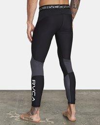 5 COMPRESSION PANT Black VR011RCP RVCA