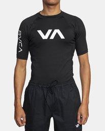 0 SPORT SS RASHGUARD Black VR011RSS RVCA