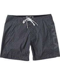 """0 Dulton 16"""" - Board Shorts for Men Black W1BSRPRVP1 RVCA"""