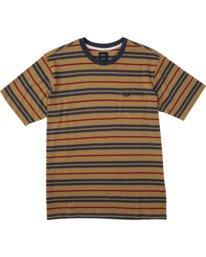 0 Capistrano Stripe - T-Shirt for Men  W1KTRARVP1 RVCA