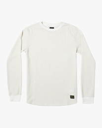 0 Recession Collection Day Shift - Haut thermique manches longues pour Homme Blanc W1KTRKRVP1 RVCA