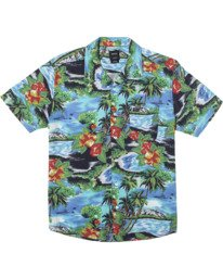 0 Kawela - Short Sleeve Shirt for Men  W1SHRCRVP1 RVCA