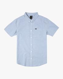 0 That'll Do - Short Sleeve Shirt for Men Blue W1SHRHRVP1 RVCA