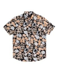 0 Pressure Drop - Short Sleeve Shirt for Men Black W1SHRORVP1 RVCA