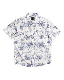 0 Panic Point - Short Sleeve Shirt for Men White W1SHSERVP1 RVCA