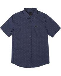 0 Carlo Dot - Short Sleeve Shirt for Men  W1SHSHRVP1 RVCA