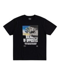 0 Split Truth - T-shirt pour Homme Noir W1SSRARVP1 RVCA