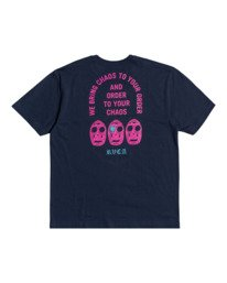 0 Superblast Chaos - T-shirt pour Homme  W1SSRERVP1 RVCA