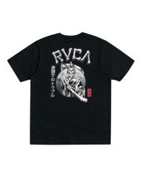 0 George Thompson Back In Paradize - T-Shirt for Men Black W1SSRMRVP1 RVCA