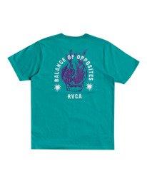 0 Superblast RVCA Balance - T-shirt pour Homme  W1SSRORVP1 RVCA
