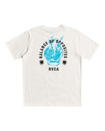 0 Superblast RVCA Balance - T-Shirt for Men White W1SSRORVP1 RVCA