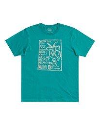 0 Vibes - T-shirt pour Homme Vert W1SSRURVP1 RVCA