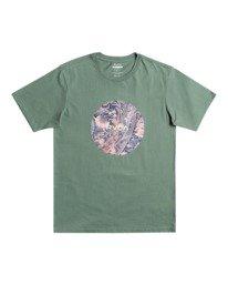 0 Motors - T-Shirt for Men Green W1SSSBRVP1 RVCA