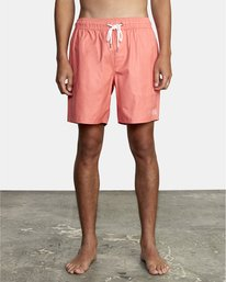 """0 Opposites 17"""" - Boardshorts for Men Pink W1VOIARVP1 RVCA"""