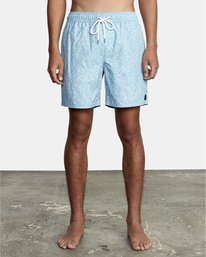 """0 Club 17"""" - Boardshorts for Men Blue W1VOIBRVP1 RVCA"""