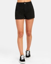0 NO LONGER HIGH RISE SHORT Black W2021RNL RVCA