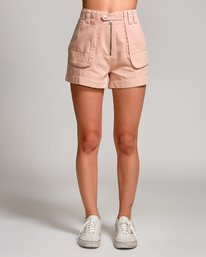 0 Router High Rise Short Pink W206URRO RVCA