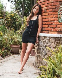 0 DAKOTA ROMPER Black W2072RDA RVCA