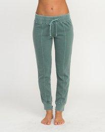 0 Faint Fleece Sweat Pant Green W301QRFA RVCA