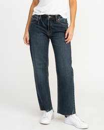 0 Filtered Straight Leg Denim Jean Blue W301QRFL RVCA