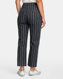 1 Holli High Rise Straight Jeans Black W303VRHO RVCA