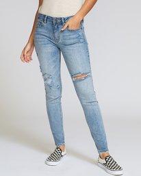 0 Dayley Skinny Jeans Blue W304VRDA RVCA